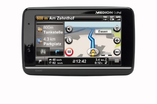 Medion Gopal Navi E4445 M20 PDA (10,9 cm (4,3 Zoll) Touchscreen, TMC, Europa, Bluetooth) schwarz