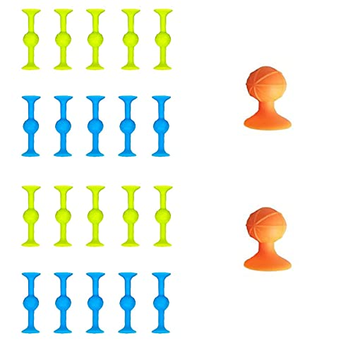 Barbas & Zacári Sucker Toys - Outdoor Competitive Games, Silicone Target Marker + Darts Funny Toy Set-pop Sucker Toys,2021super Popular Family Interactive Toy - Release Stress (22pcs)