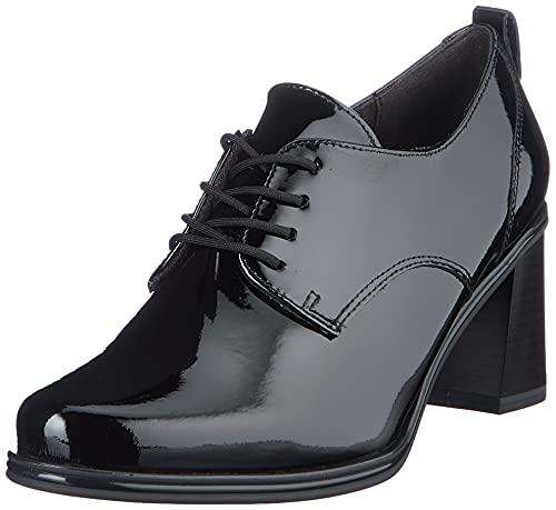 Tamaris 1-1-23300-27, Zapatos de Tacón Mujer, Black Patent, 39 EU