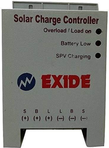 Prabha Exide Technologies 12/24 V, PWM 6 A Solar Charge Controller for Home Light