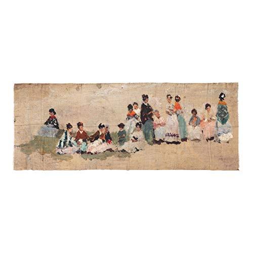 Museo del Prado Estola de Lana, Merino y Seda, Multicolor, L Unisex Adulto