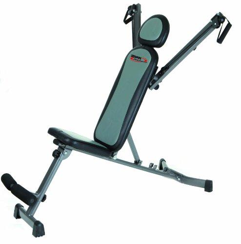 Stamm Bodyfit Multitrainer Oberkörper-Trainingsgerät, grau/schwarz
