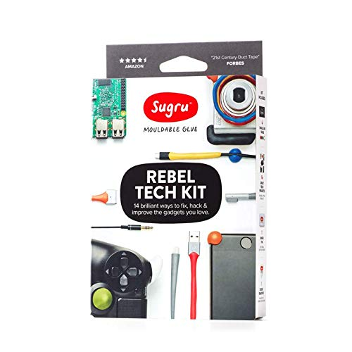 Sugru Moldable Glue  Rebel Tech Kit