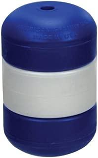 """Handi-Lock Float 3"""" x 5"""" Float for 3/8"""" Rope, Blue/White/Blue"""