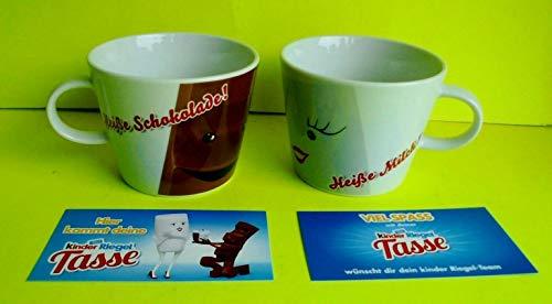 Arzberg 2 x Kinderriegel Porzellan Tasse 300 ml Heiße Milch Heiße Schokolade Kaffeetasse Ferrero Neu
