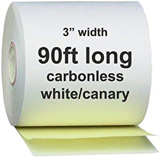 AM-Ink Two Ply Carbonless POS Receipt Paper Rolls 3