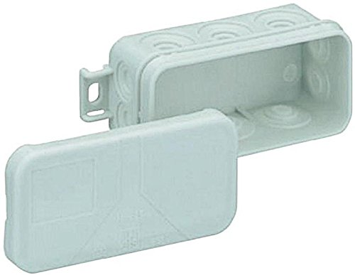Spelsberg Mini 25-l Polyethylene, Polypropylene (PP) Electrical Junction Box–Electrical Junction Boxes (Grey, 89mm, 43mm, 37mm)