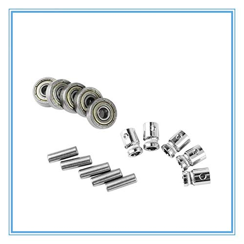 L-Yune,bolt 1set For Prusa I3 MK2.5/MK3 Multi Materials 2.0 3d Printer Extruder Gears 625ZZ Bearings Shafts Kit For Mk3 MMU2 Pulley Body Assembly
