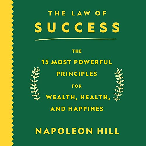 The Law of Success Audiobook By Napoleon Hill cover art