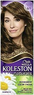 ويلا كولستون Wella Koleston Naturals Permanent Color Cream 6/1 - Dark Ash Blonde