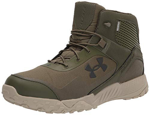 Under Armour mens Valsetz Rts 1.5 5-inch Waterproof Military and Tactical Boot, Marine Od Green (300 Khaki Base, 9.5 US