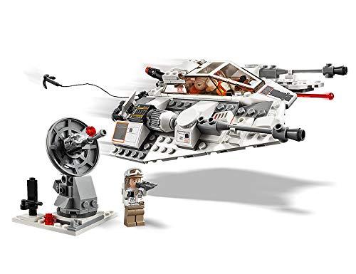 LEGO 75259 Star Wars Snowspeeder – 20th Anniversary Edition Set, Lando Calrissian Collectible Minifigure, Battle of Hoth, The Empire Strikes Back Collection