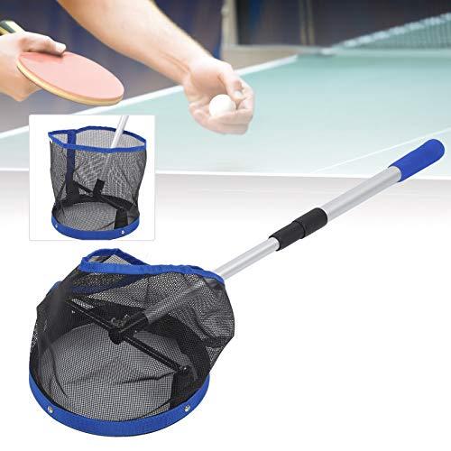 Pingpong Ball Retriever, recogedor de Pelotas de Tenis de Mesa de Gran Capacidad, para Recoger y almacenar Pelotas de Tenis, Tenis de Mesa de Entrenamiento