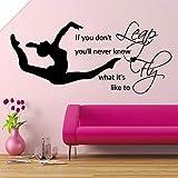 xingbuxin Leap Fly Girl Calcomanía de Dormitorio Pegatinas de Vinilo de...