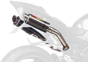 Hotbodies Racing 80901-2400 Carbon Fiber Slip-On MGP Exhaust Canister