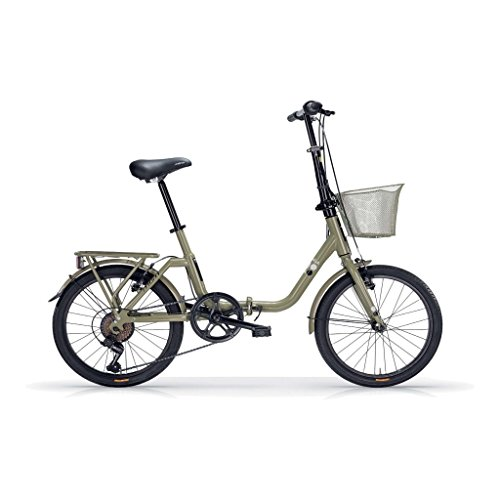 MBM K A N G A R O O, Bici Pieghevole Unisex – Adulto, Verde A10, 20'