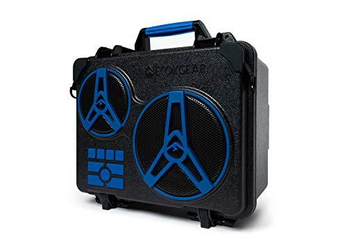 ECOXGEAR EcoJourney Rugged Waterproof Portable Bluetooth Wireless 65-Watt Speaker Dry Storage with 50+ Hours Playtime(Blue)