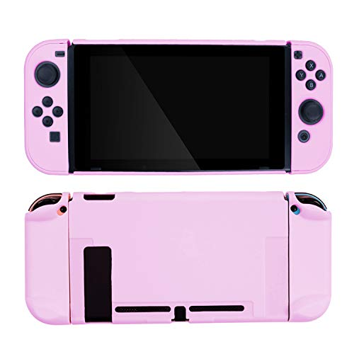 GeekShare Switch Protective Case Slim Cover Case for Nintendo Switch and Joy Con - Shock-Absorption and Anti-Scratch (Purple)