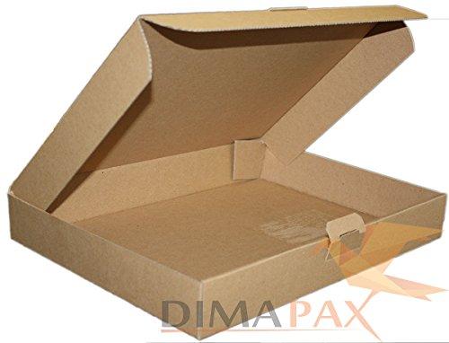 Maxibrief MB6 bruin 350 x 250 x 50 mm 400 stuks dimapax