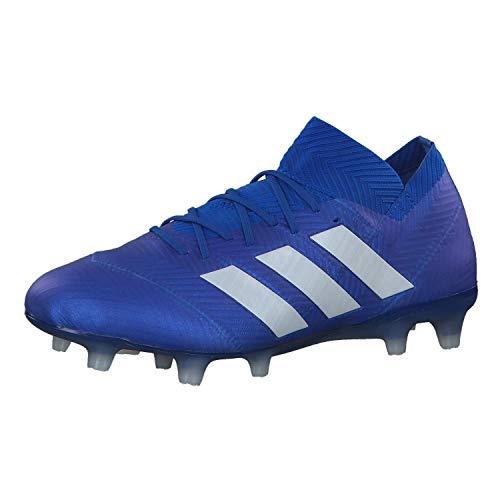 adidas Nemeziz 18.1 FG, Zapatillas de Fútbol Hombre, Azul (Blau/Weiß Blau/Weiß), 41 1/3 EU