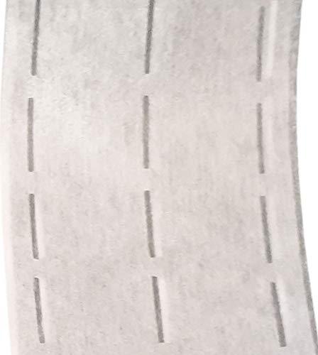 Grafit MOORE DENIM Vlieseline Kantenfix Stanzband 5 cm breit Meterware per 0,5 m