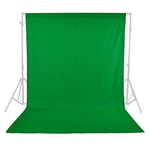 Phot-R® 3m x 3m Photo Studio Non-Woven Backdrop Background - Green