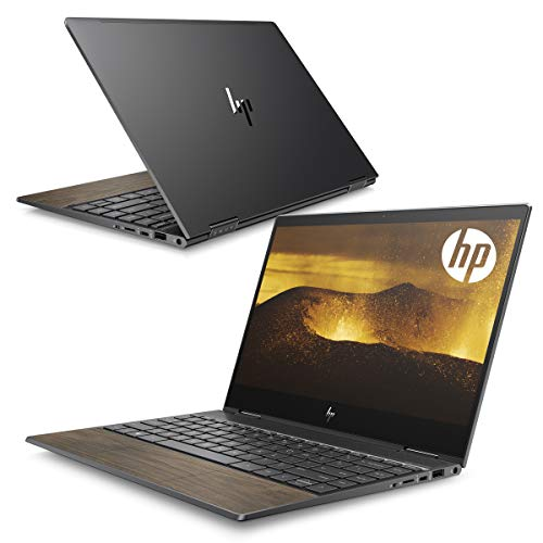 HP ノートパソコン HP ENVY x360 13 Wood Edition 13.3インチ フルHDタッチパネルディスプレイ 2in1 コンバーチブルタイプ AMD Ryzen 3/8GB/256GB SSD WPS Office付き(型番:8TW30PA-AAAB)