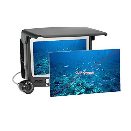 XIAODONGDONG Webcam Fish Finder sous-Marine SIE vidéo Échosondeur Pêche Caméra IR de Vision Nocturne 4.3 Pouces Moniteur Caméra HD 1000TVL