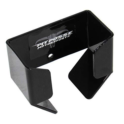 Pit Posse Air Gauge Pouch Holder Car Trailer Hanger NHRA Aluminum (Black, Large)