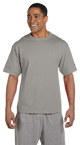 Champion Heritage 7 oz. Jersey T-Shirt, Oxford Grey, X-Large