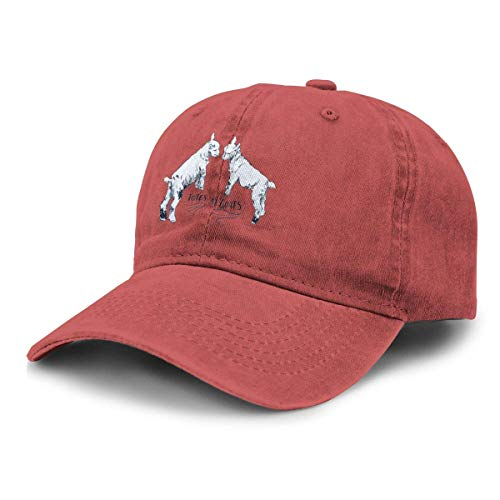 XuFuZengk Truck Baseball Cap Sun Hat Totes M'Goats Unisex Adjustable Retro Cowboy Hat Stylish Baseball Cap
