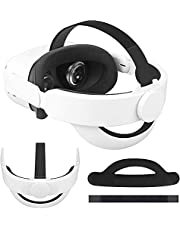 K3 Adjustable Head Strap for Oculus Quest 2, Cochanvie Headband Replacement for Oculus Quest 2 Elite Strap, Enhanced Comfort and Support Oculus Quest 2 Accessories