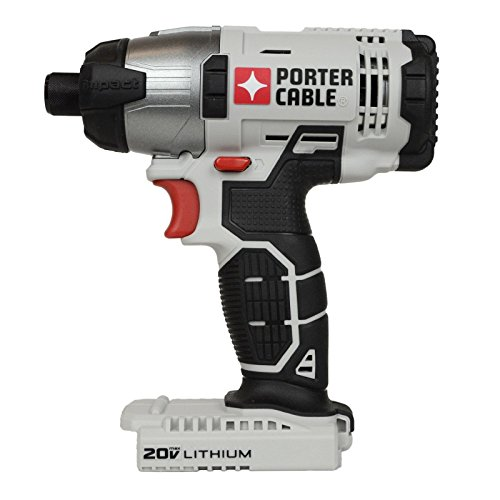 Porter Cable 20v Max Lithium Ion 1/4' Hex Impact Driver...