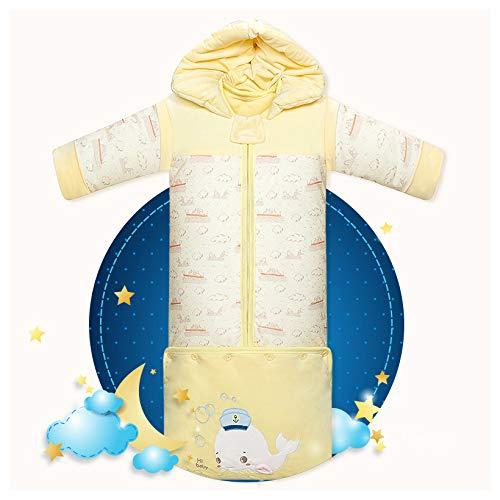 100% Katoen Baby Slaapzak Baby Slaapzak 2,5 Lbs 70-90Cm Verstelbare Winter Baby Slaapzakken, 3-18 Maanden