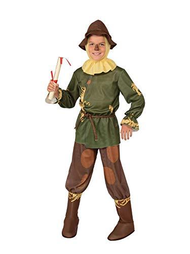 Rubies Disfraz infantil oficial de espantapjaros del Mago de Oz, para nios de 5 a 7 aos