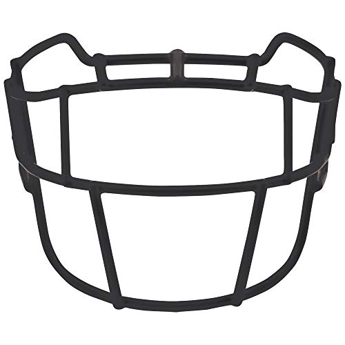 Schutt Sports VEGOP TRAD Carbon Steel Vengeance Varsity Football Faceguard, Black