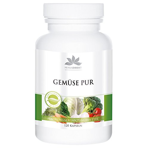 Extractos de Verduras + Alga Espirulina – Multivitamínico natural a base de...
