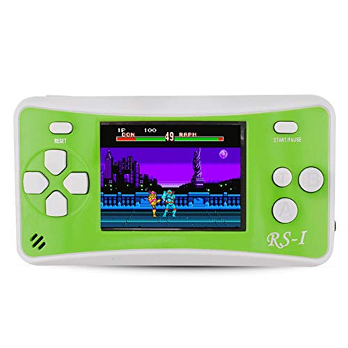 ZHB Retro Electronic Handheld Games for Children,Built-in 182 Classic Games,2.5