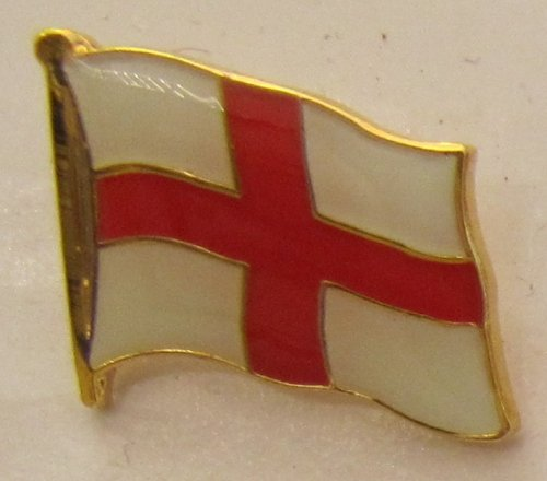 Pin Anstecker Flagge Fahne England rotes Kreuz Flaggenpin Badge Button Flaggen Clip Anstecknadel