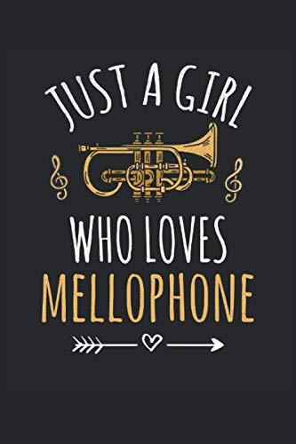 Mellophone Lined Notebook: Mellophone Notebook - Mellophone Journal 120 Pages for Mellophone Player or Mellophone Lover - Mellophone Gifts for Girls Marching Band