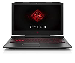 HP Omen 15-ce014ng 39,6 cm (15,6 Zoll Full HD IPS) Gaming Notebook (Intel Core i7-7700HQ, 16GB RAM, 1TB HDD, 512GB SSD, NVIDIA GeForce GTX 1060 6GB, Windows 10 Home 64) schwarz