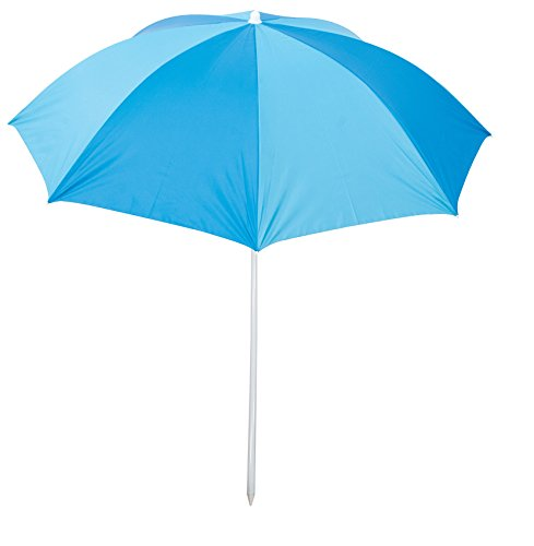 Rio Brands Deluxe 6' Sunshade Umbrella - Blue/Turquoise