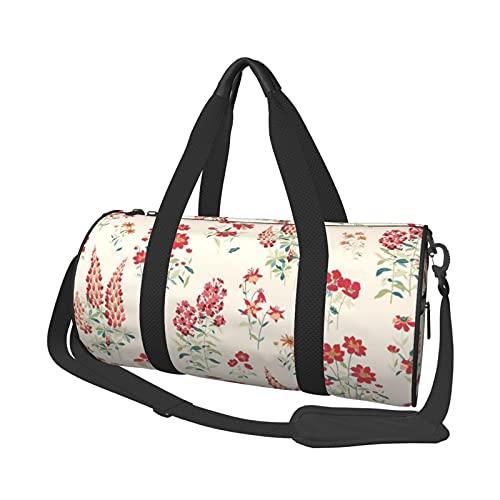 MBNGDDS Bolsa de viaje de papel pintado, ligera, plegable, impermeable, con correa para el hombro, bolsa de deporte para hombres y mujeres, ver imagen, Talla única,