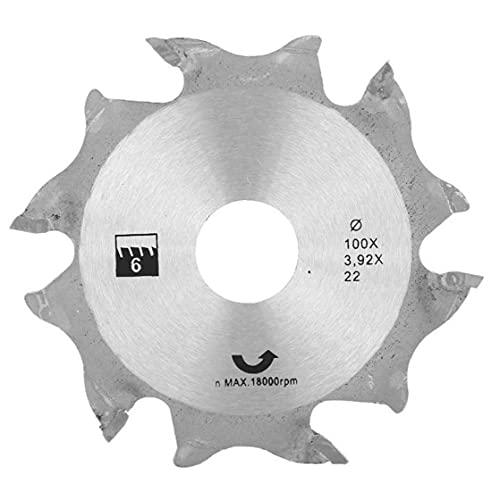 100MM sega circolare Denti Disc Saw Disco smerigliatrice angolare circolare argento Carburo di finitura Seghe per lavorazione del legno Wood Work
