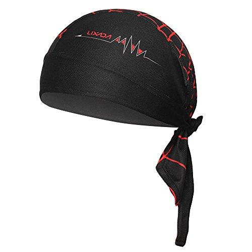 Lixada Outdoor Cycling Adjustable Headwrap Traspirante Quick-Dry Berretto con Archetto da Bicicletta Motocicletta da Ciclismo