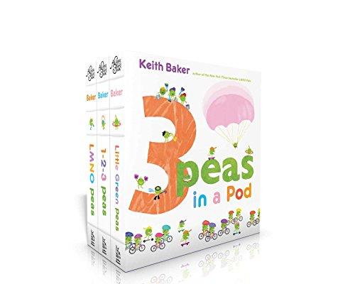 3 Peas in a Pod: LMNO Peas; 1-2-3 Peas; Little Green Peas (The Peas Series)
