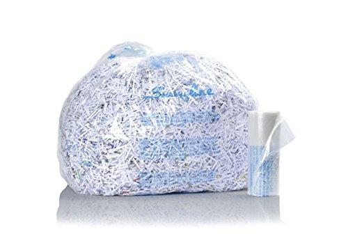 GBC Shredder Bags, For TAA Compliant Shredders, Plastic, 30-60 Gallon, 100/Pack (1145482)