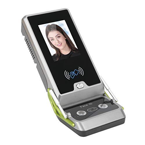 TCP IP Reconocimiento facial Contraseña Máquina de asistencia Pantalla TFT a color de 2.8 pulgadas, Tarjeta de identificación RFID Control de acceso Registrador de asistencia