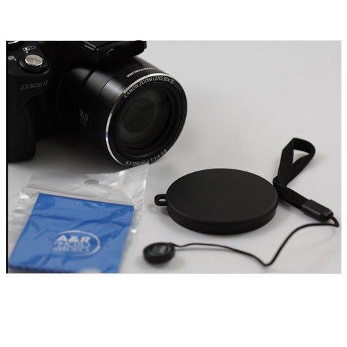 Push up Front Lens Cap Cover for Kodak PIXPRO AZ252 Digital Camera + Cap Holder