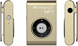 WZY IPX8 Waterproof Swimming Diving Sports MP3 Music Player with Clip & Earphone, Support FM, Memory:8GB(White) (Color : G...